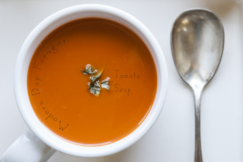 Tomato Soup by Modern Day Forager