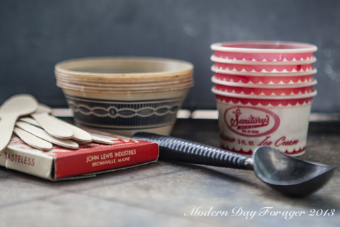 Vintage Ice Cream Shoppe by Modern Day Forager