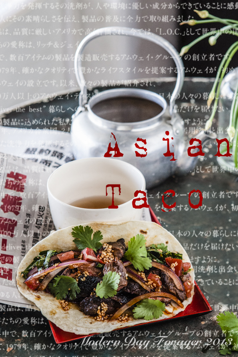 Asian Tacos by Modern Day Forager