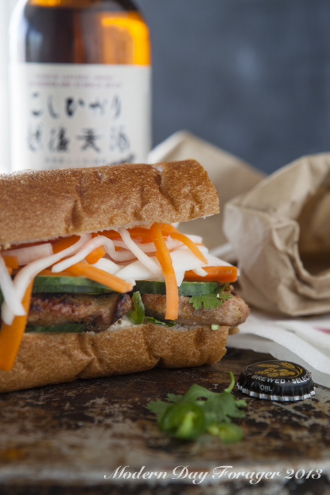 Bahn Mi Sandwich by Modern Day Forager