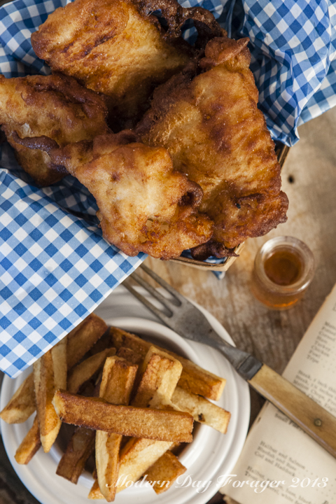 Fish and Chips by Modern Day Forager