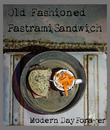 Old Fashioned Pastrami Sandwich from Modern Day Forager