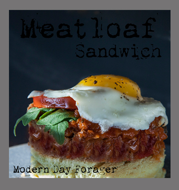 Meatloaf Sandwich by Modern Day Forager
